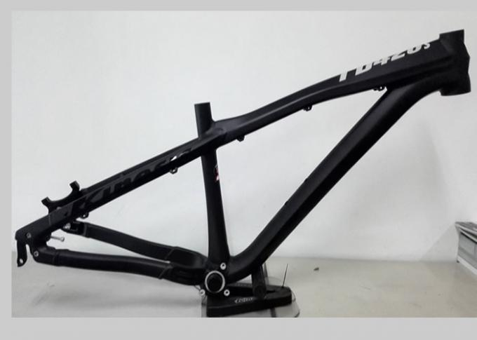 Colorful 4x Hardtail Am Bike Frame , Dj Bike Frame With Tapered Headtube