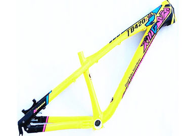 China Colorful 4x Hardtail Am Bike Frame , Dj Bike Frame With Tapered Headtube supplier