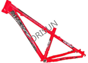 China Colorful 26 Dirt Jumper Frame , Lightweight Dirt Jump Mountain Bike Frame supplier