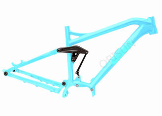 China Full Suspension Electric Bike Frame 27.5er Boost 200 X 57 Mm Shock Size supplier