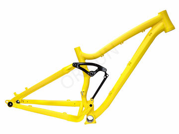 China Lightweight Enduro Full Sus Mtb Frame Aluminum Alloy AL6061 160mm Travel supplier