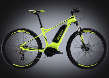 China 27.5 Inch Mountain Custom Electric Bike Aluminum Alloy 6061 Mid - Drive supplier