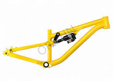 China Full Suspension Dirt Jump Bike Frame Slope Style 4X Freestyle BMX Smooth Welding supplier
