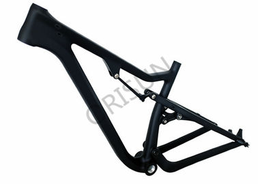 China Disc Brake Full Suspension Fat Bike Frame Wheel 120mm Travel 2250 Grams supplier