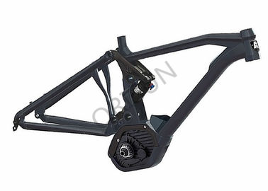 China CX Mid Drive Electric Bike Frame Aluminum Alloy 6061 Customized Painting supplier