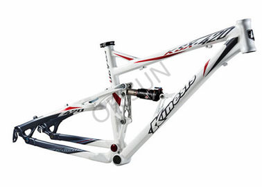 China 26er XC Full Suspension Bike Frame Custom Made Disc Brake 2676 Grams supplier