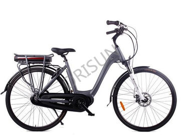 China City Black Step Through Custom Electric Bike 250w 120 Kg Load Capacity supplier