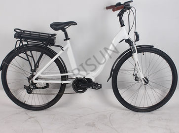 China 250W Electric City Bike , Aluminum Alloy Electric Road Bike Custom Color supplier