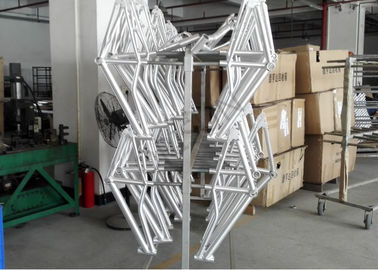 China 24 Inch Bmx Freestyle Frames , Customized Bmx Bike Frames 135 X 9qr Dropout supplier