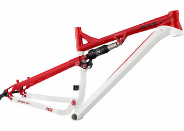 China 29er XC Full Suspension Bike Frame Aluminum Mountain Bike 120mm Travel supplier