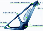 China Full Carbon Downhill Bike Frame , 29 Inch Electric Custom Bike Frames factory