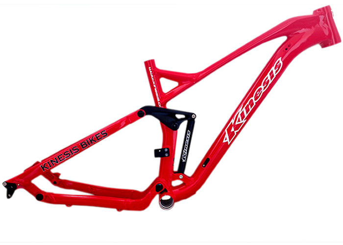 Red Mountain Full Suspension Bike Frame Aluminum Alloy With Robot ...