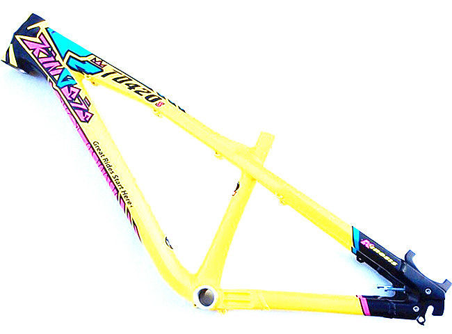 27.5 / 26 Inch Hardtail Mountain Bike Frames , Dirt Jump Slopestyle ...
