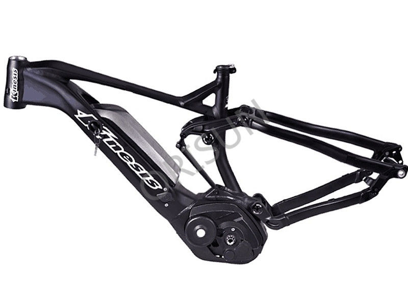 All Mountain Electric Bike Frame Full Painting With Cx Mid