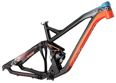 China Lightweight Downhill Bike Frame , Freeride / Enduro Mtb Frame With Custom Logo distributor