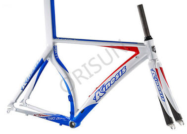 China Short Wheelbase 700c Triathlon Bike Frame , Aerodynamic Road Bicycle Frames distributor