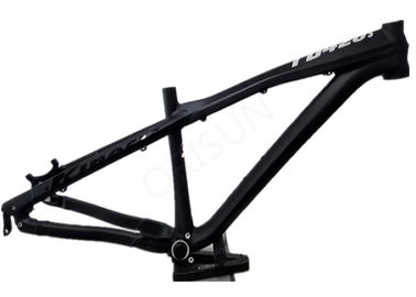 China 26er / 27.5 Inch Aluminum Bike Frame Dirt Jump All Mountain Riding Style distributor
