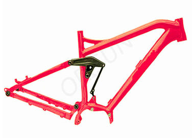 China Electric Full Suspension Mtb Frame , 29er Mtb Bike Frames Mid - Drive Motor distributor
