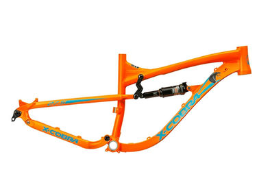 China Full Suspension Enduro Aluminum Bike Frame Multi Color With Compatible Wheel distributor