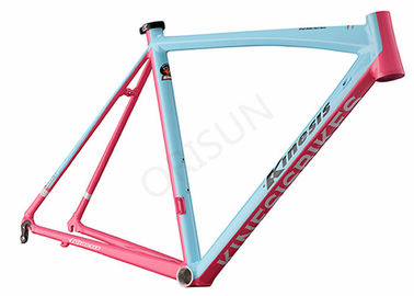 China Aluminum Alloy Aero Road Bike Frame Lightweight With SPF Technology distributor