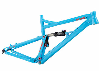 China Aluminum AM/Enduro Full Suspension Bike Frame,160mm Travel Mountain Bike Frame distributor